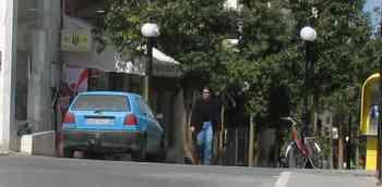 Αγιος Νικόλαος, Πεζόδρομος 28ης Οκτωβρίου, Παράνομη στάθμευση - 200904021422