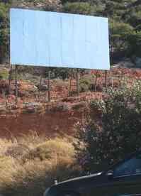 Εθνική Οδός Ηράκλειο Αγιος Νικόλαος, Περιοχή Ξηροκάμπου, Παράνομη διαφημιστική πινακίδα - 200907311719