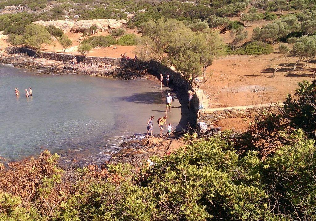 Ελούντα, Κολοκύθα, παραλία σήμερα- 20140629-2