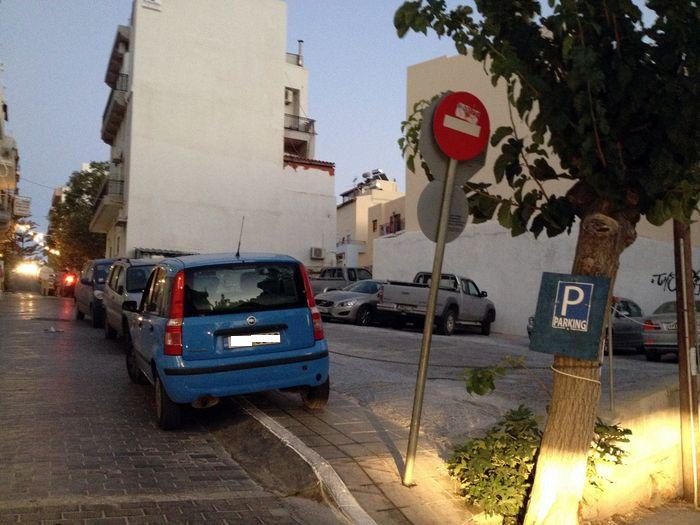 Αγιος Νικόλαος, χώρος στάθμευσης πίσω από Αγία Τριάδα - 20140819-2