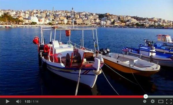 """Υπουργείο τουρισμού, σποτ """"Moments in Crete"""" - 20141105-1"""
