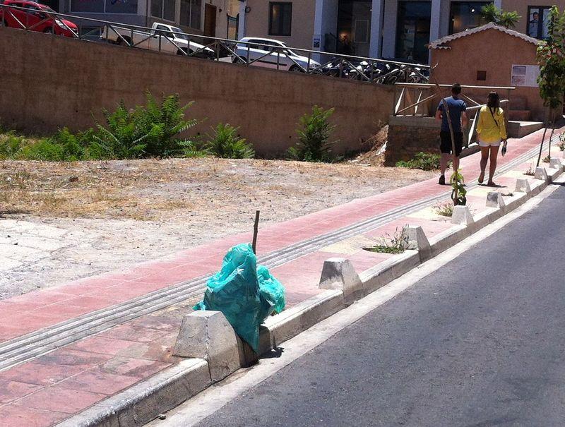 Αγιος Νικόλαος, Σόχο, Σκουπίδια - 201507181341-s