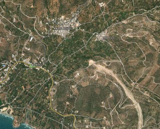 ΒΟΑΚ, Αγιος Νικόλαος -  Καλό Χωριό, τέλος έργου - Google_-_2014-02-28_08.54.20