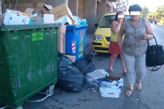 Αγιος Νικόλαος, σκουπίδια επαγγελματιών - coral20140713