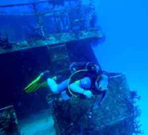 Κατάδυση σε βυθισμένο σκάφος