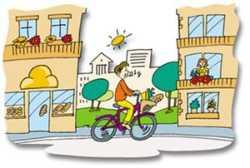Στην πόλη με ποδήλατο